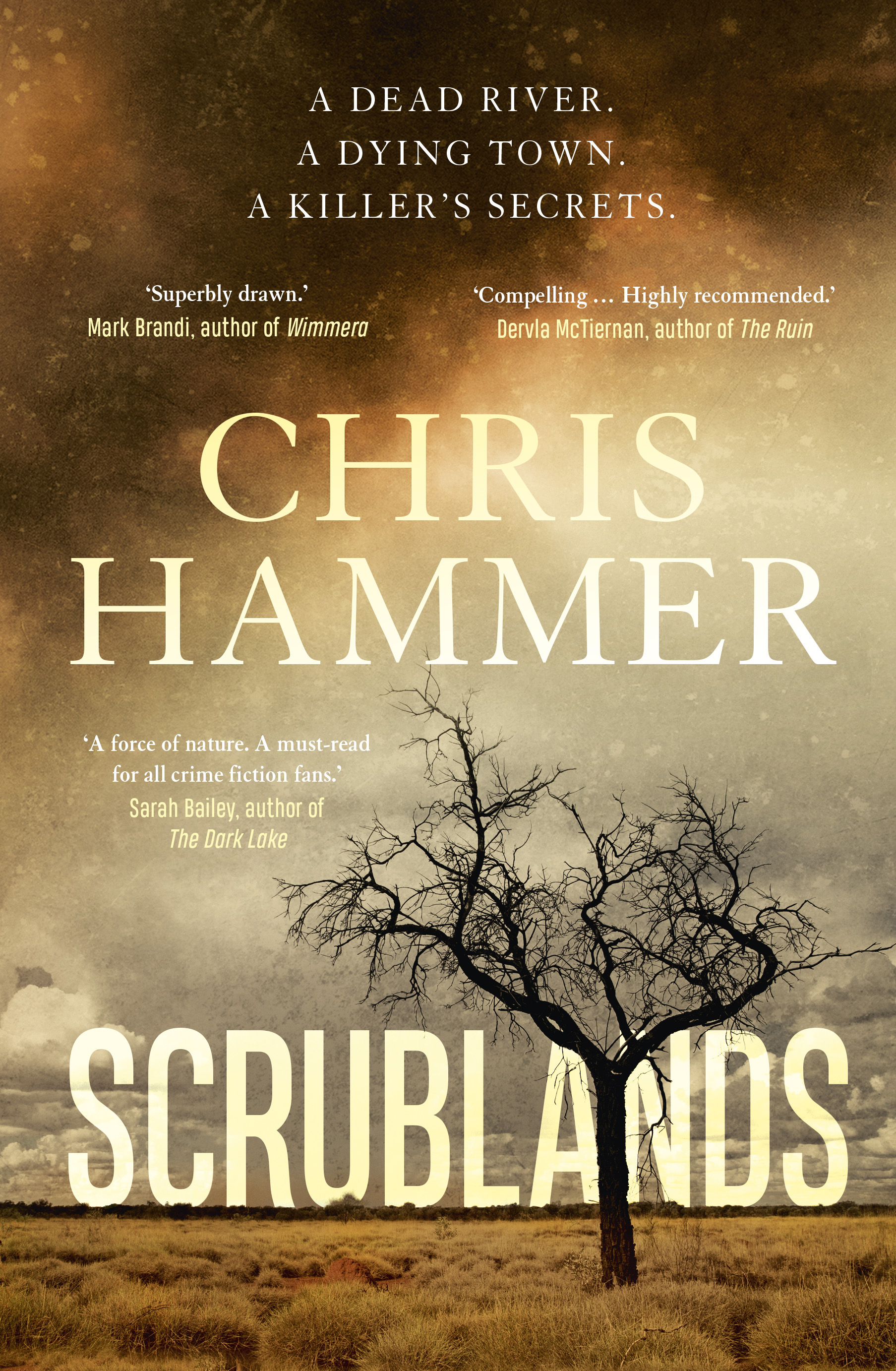 THROWBACK THURSDAY: SCRUBLANDS by Chris Hammer (Allen & Unwin, $A32.99)