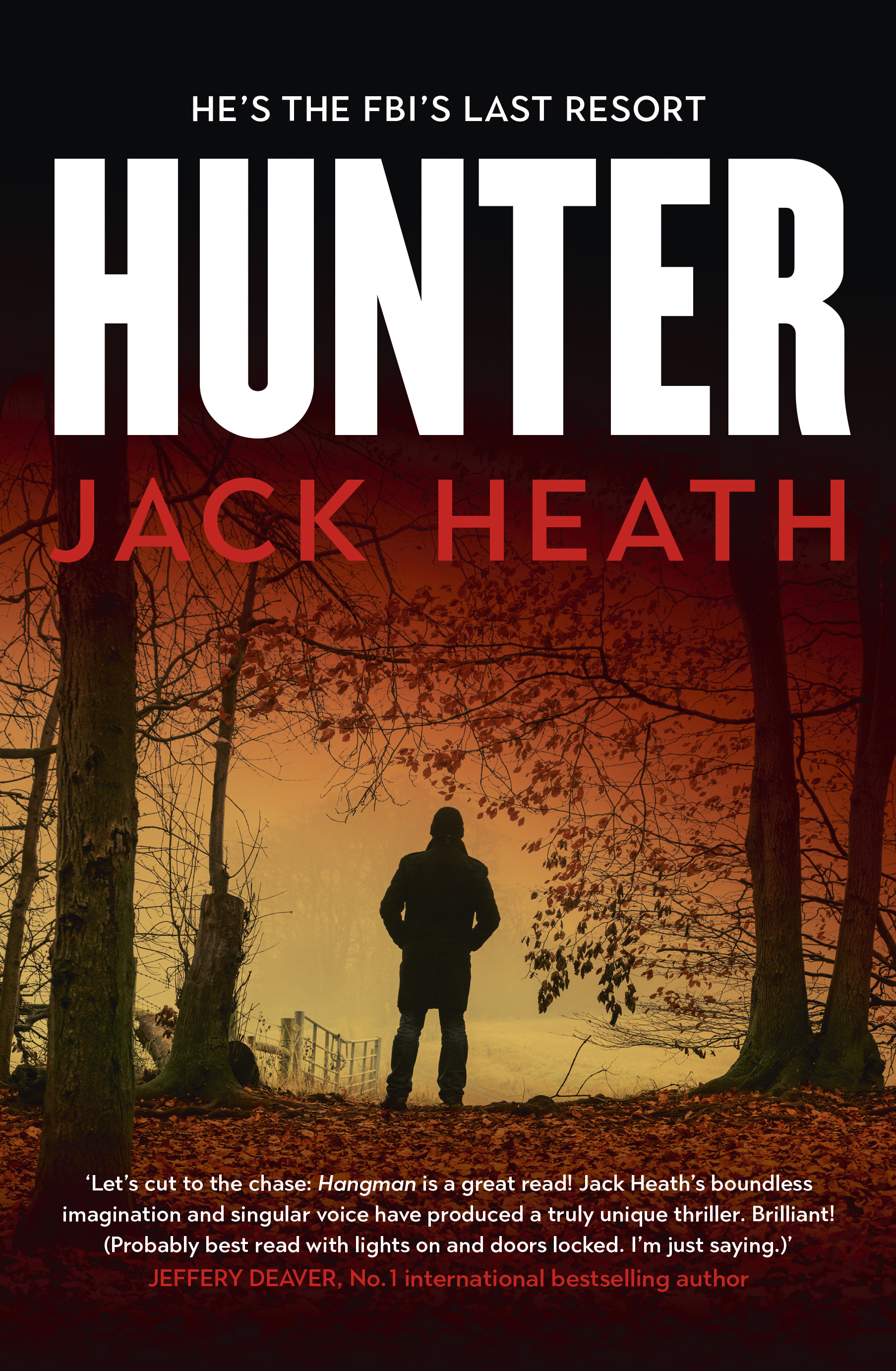 Hunter by Jack Heath (Allen & Unwin, $A29.99)