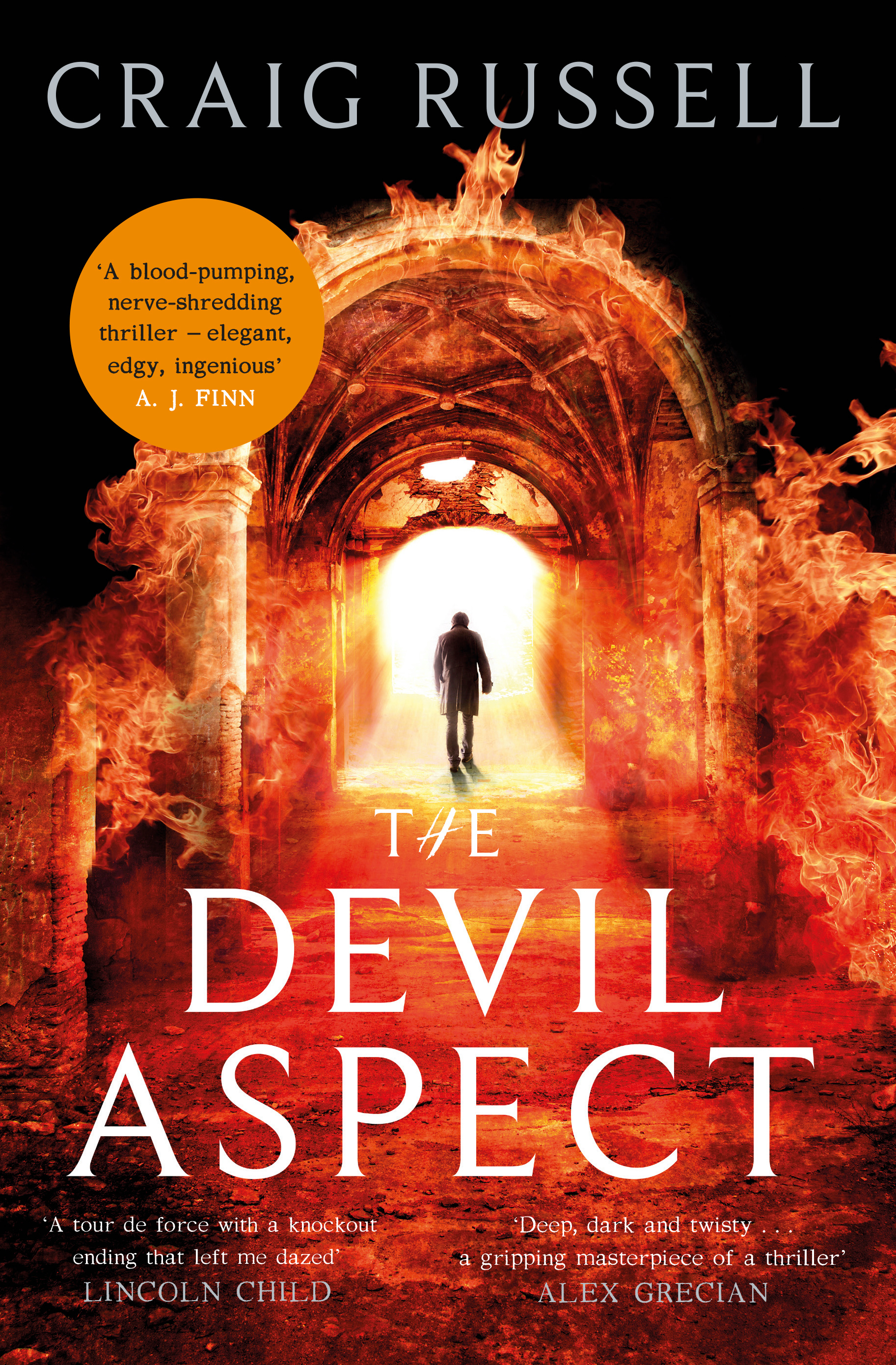 THE DEVIL ASPECT by Craig Russell (Constable, $A29.99)