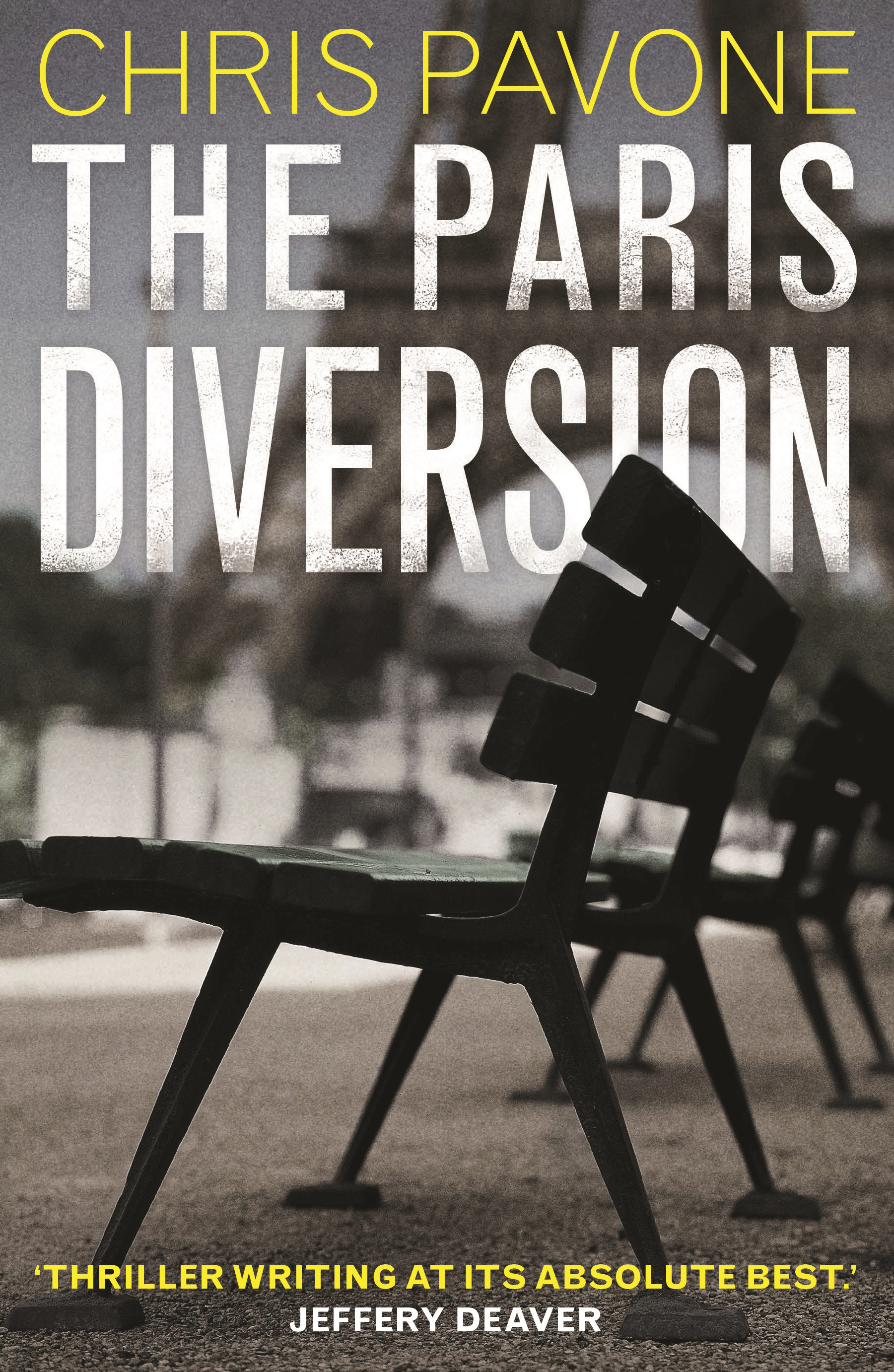 FORECAST FRIDAY: THE PARIS DIVERSION by Chris Pavone (Faber, $A29.99).  Due out June 2019  (7 May 2019 in the UK)
