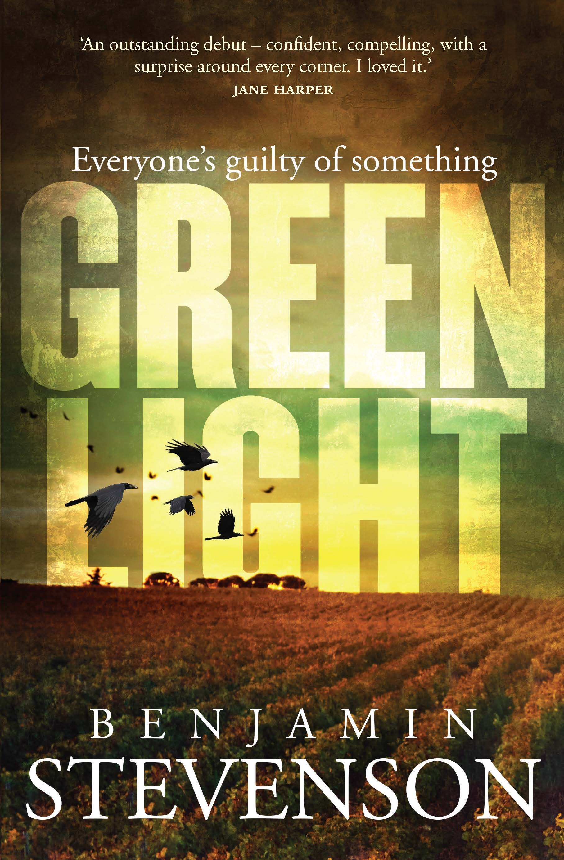 THROWBACK THURSDAY: GREEN LIGHT by Benjamin Stevenson (Michael Joseph, $A32.99).  Originally published September 2018.