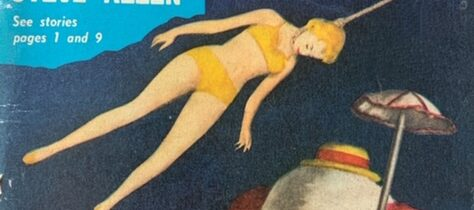 TRASHY TUESDAY: FLOATING WOMEN AND A KILLER CLOWN!  ELLERY QUEEN'S MYSTERY MAGAZINES OF THE 1950S