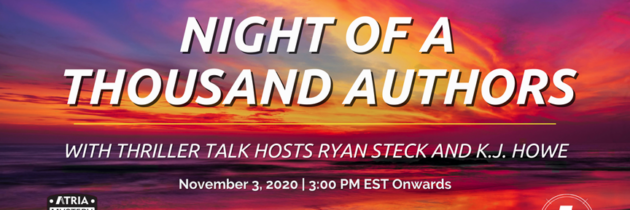 NIGHT OF A THOUSAND AUTHORS – SPECIAL EVENT!